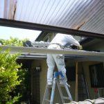 鉄筋コンクリート建物の防水改修工事の下地チェック